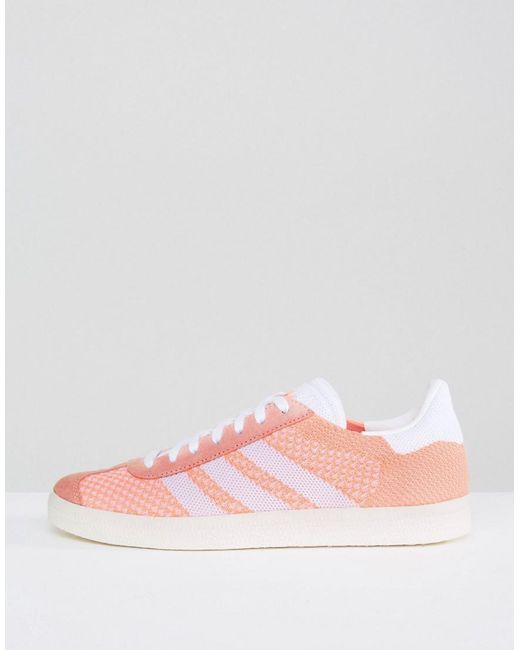 adidas Coral Primeknit Gazelle Sneakers Xf7vr