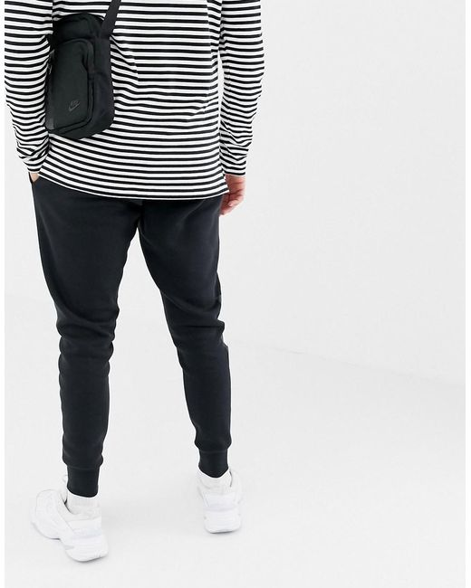 8c89d620e Nike Air Skinny Joggers In Black 928637-010 in Black for Men - Lyst