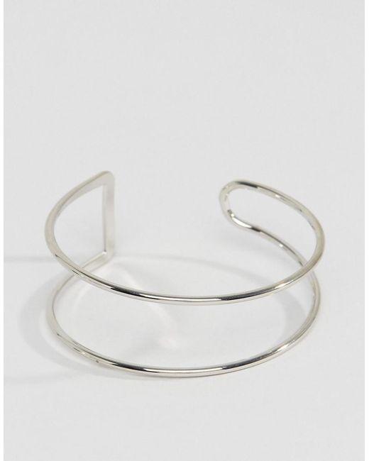 ALDO | Metallic Minimal Cuff Bracelet | Lyst