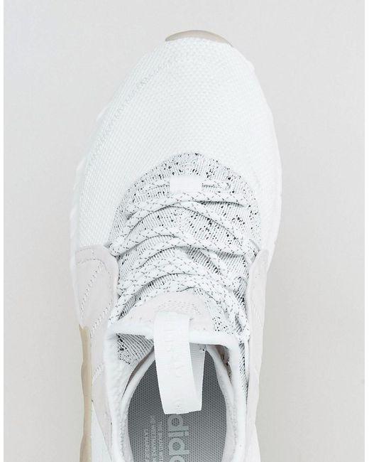 Adidas Originali Tubulare Aumento Formatori In Bianco By3555 In Bianco