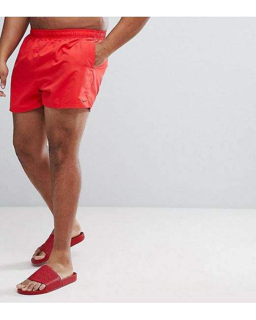 aafd63e8cc Nike - Nike Plus Volley Super Short Swim Short In Red Ness8830-614 for Men  ...
