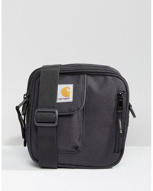 7e5fbf58f56 Carhartt WIP Essentials Flight Bag In Black in Black for Men - Lyst