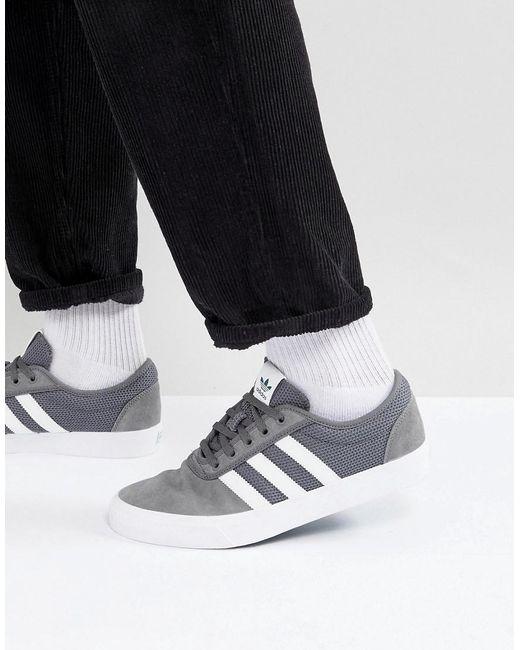 lyst adidas originali dga facilità i formatori in grigio cq1063 in grigio per gli uomini.