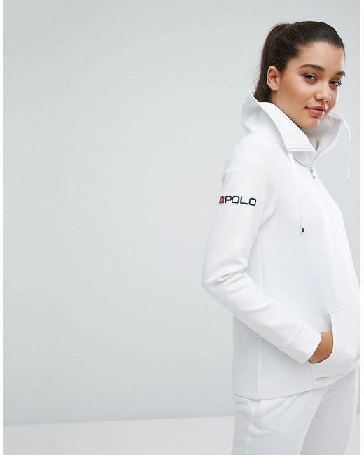 Polo Ralph Lauren   White X Wimbledon Tech Track Jacket   Lyst
