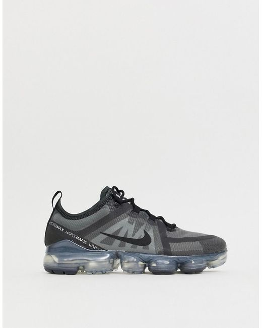 online store 20462 b16d3 Nike - Vapormax 2019 Trainers In Black for Men - Lyst ...