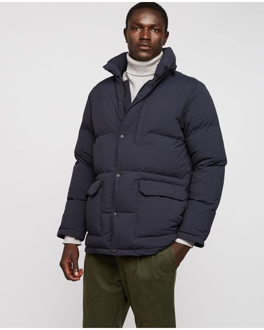Aspesi - Blue Down Jacket for Men - Lyst