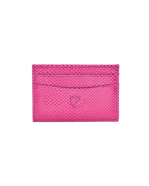 Aspinal - Pink Slim Credit Card Case - Lyst