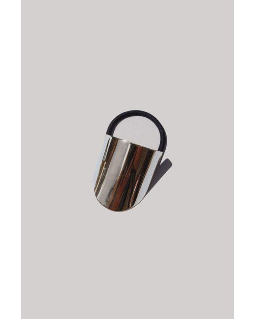 Saskia Diez - Multicolor Silver Oval Hair Tie - Lyst