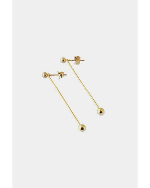 RebekkaRebekka | Metallic Gold Trine Earplugs | Lyst