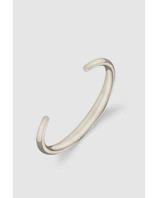 Gabriela Artigas - Metallic White Bronze Beam Cuff - Lyst