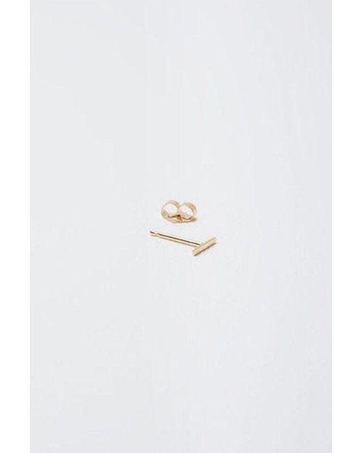 Kathleen Whitaker - Multicolor 14k Gold Staple Stud - Lyst