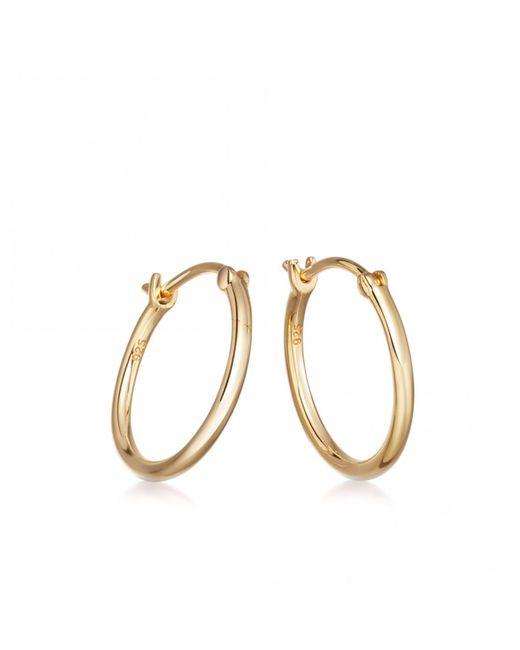Astley Clarke - Metallic Medium Stilla Gold Hoop Earrings - Lyst