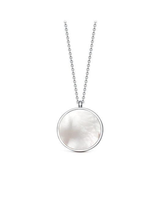 Astley Clarke - Multicolor Mother Of Pearl Slice Stilla Locket Necklace - Lyst