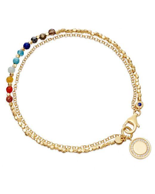 Astley Clarke | Metallic Rainbow Cosmos Biography Bracelet | Lyst