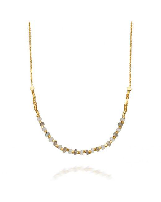 Astley Clarke | Metallic Labradorite Detail Biography Necklace | Lyst
