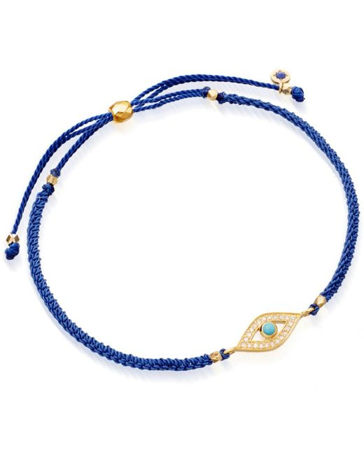 Astley Clarke | Yellow Evil Eye Skinny Biography Bracelet | Lyst