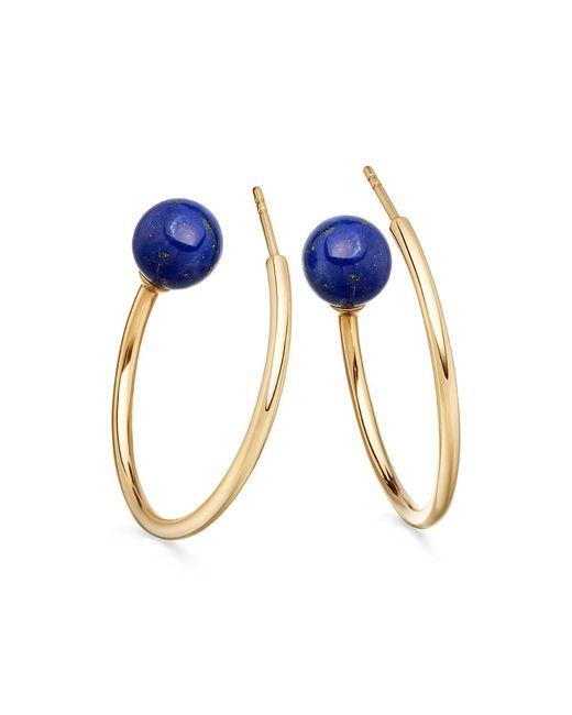 Astley Clarke | Blue Lapis Ezra Hoop Earrings | Lyst