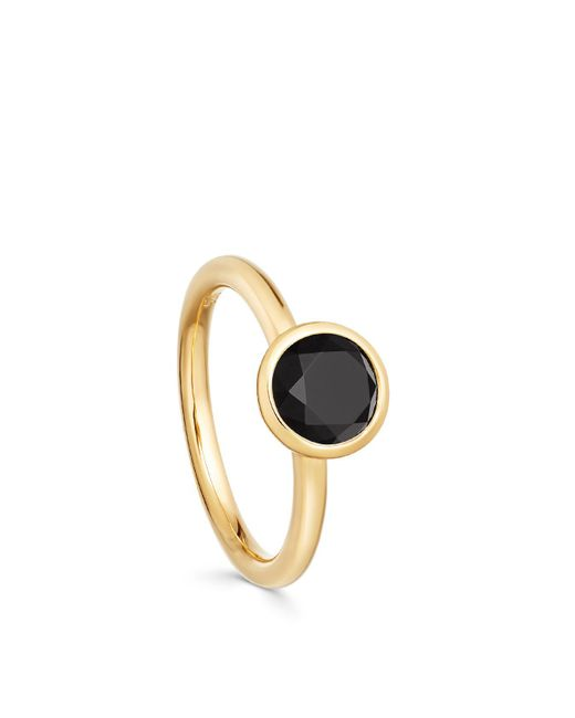 Astley Clarke - Mini Black Onyx Stilla Ring - Lyst
