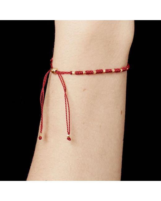 Astley Clarke Red Protection Skinny Biography Bracelet Lyst