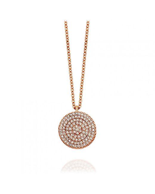 Astley Clarke - Metallic Icon Diamond Pendant Necklace - Lyst