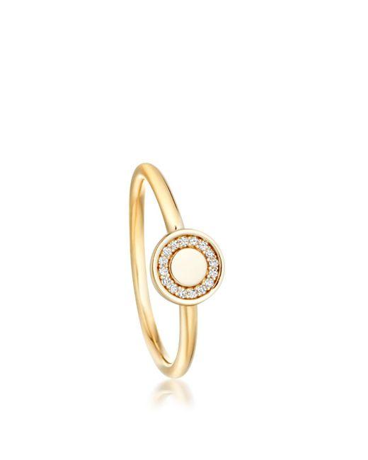 Astley Clarke   Metallic Mini Cosmos Ring   Lyst