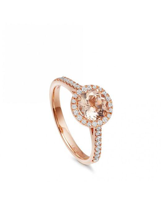 Astley Clarke | Metallic Morganite Tearoom Ring | Lyst