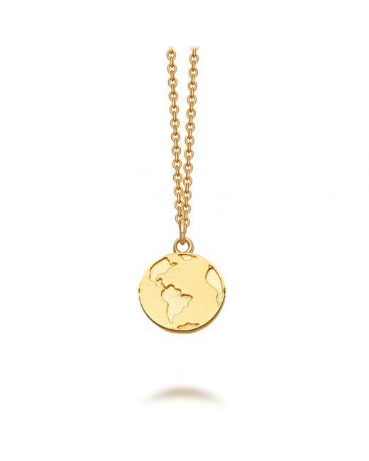 Astley Clarke - Metallic Earth Biography Pendant Necklace - Lyst