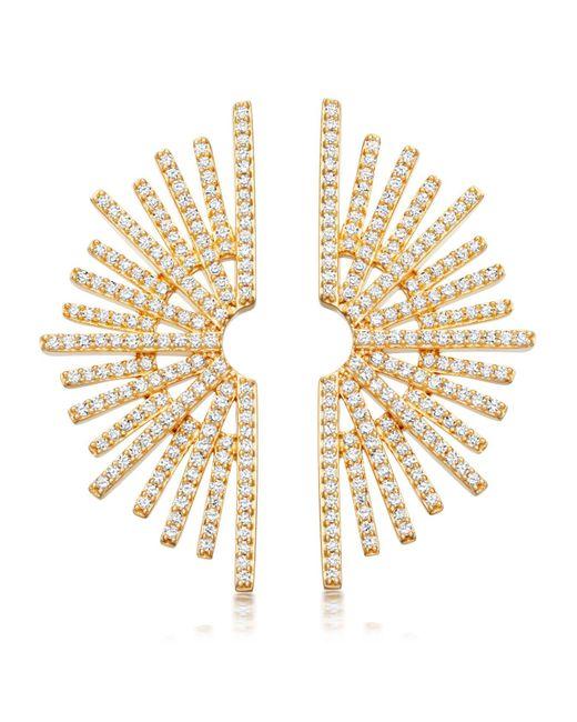 Astley Clarke - Multicolor Large Setting Sun Stud Earrings - Lyst
