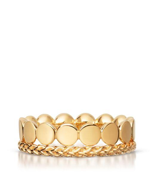 Astley Clarke - Yellow Stilla Ring Stack - Lyst