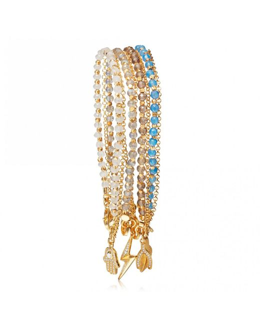 Astley Clarke - Metallic The Opportunist Bracelet Stack - Lyst
