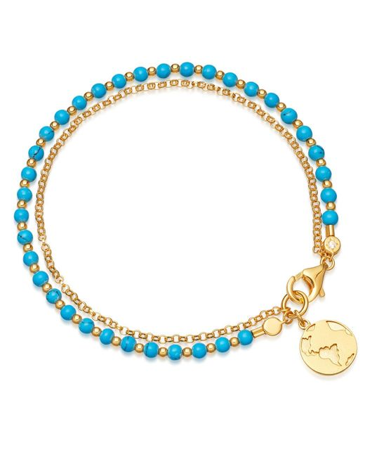 Astley Clarke - Multicolor Turquoise Earth Biography Bracelet - Lyst