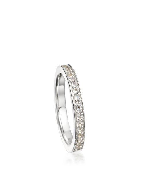 Astley Clarke - White Moonstone Eternity Ring - Lyst