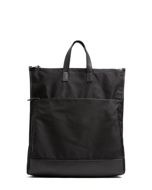ATM - Black Small Fold Over Backpack - Lyst