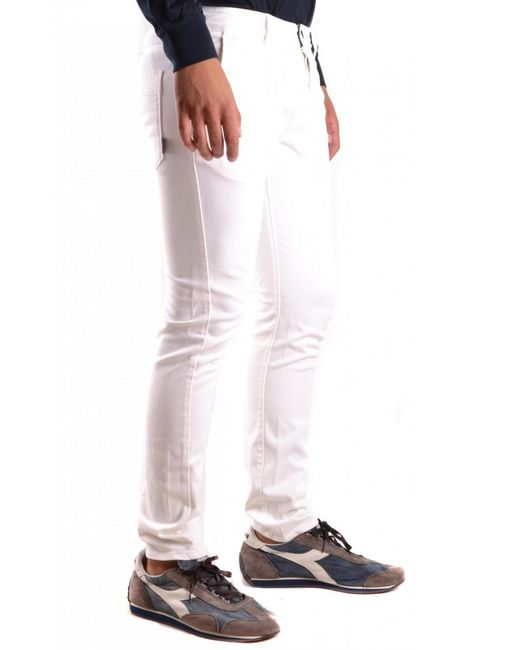 Stone Island - White Trousers for Men - Lyst