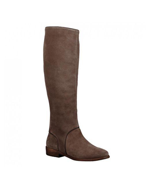 Ugg - Brown Ladies Gracen Suede Knee High Boot - Lyst