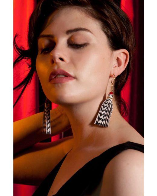 Rosita Bonita - Pink Twin Tassel Earrings - Lyst