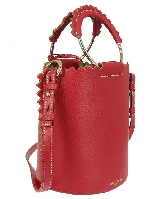 Sara Battaglia - Bucket Bag In Red - Lyst