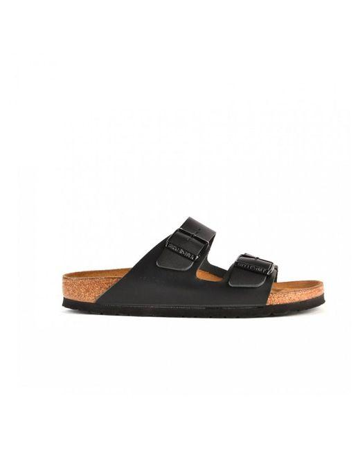 Birkenstock - Arizona Black Narrow Fitting Sandals - Lyst
