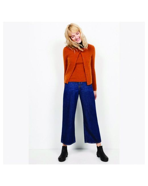 American Vintage - Blue Mac180 Cropped Stone Jeans - Lyst