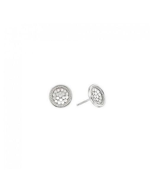 Anna Beck - Metallic Dish Stud Earrings - Lyst
