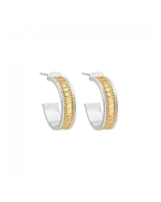 Anna Beck - Metallic Hoop Post Earrings - Lyst