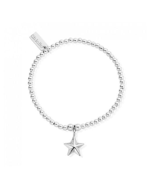 Chlobo Metallic Cute Charm Bracelet With Star Lyst