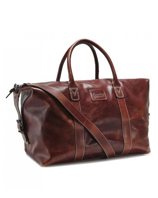 Loake - Brown Leather Balmoral Weekend Bag for Men - Lyst ... 1f32c6539f837
