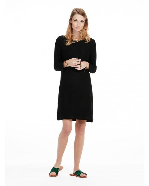 Maison Scotch - Black Sweat Dress - Lyst