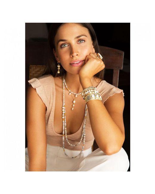 Anna Beck - Metallic Marquise Stud Earrings - Lyst