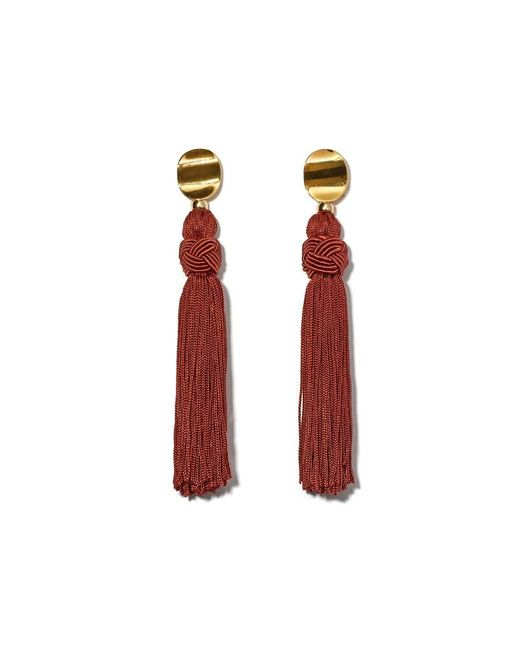 Lizzie Fortunato | Multicolor Sienna Luxe Tassel Earrings | Lyst