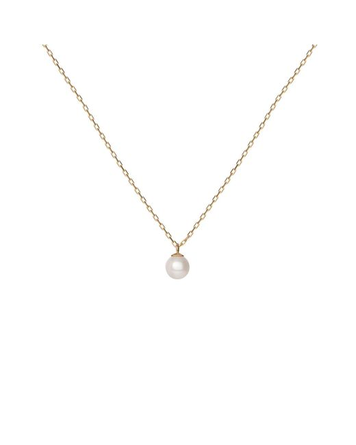 AUrate New York | Yellow Simple Pearl Necklace | Lyst