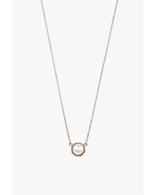 Grace Lee | Metallic Crown Bezel Necklace | Lyst