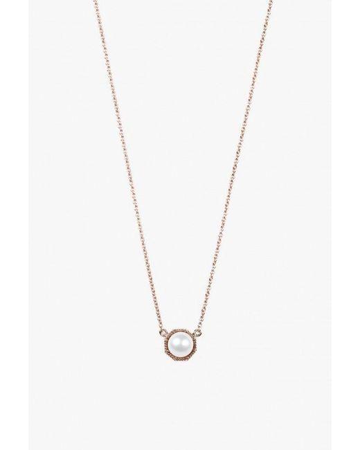 Grace Lee   Metallic Crown Bezel Necklace   Lyst