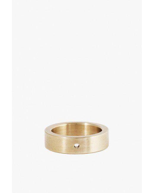 Marmol Radziner - Metallic Heavyweight Solid Standard Ring - Lyst